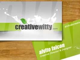 Example of business card