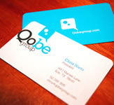 Qobe Group Business Cards