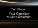 Browse mission statement commercial sign templates