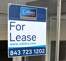 For Lease Coroplast Sign