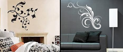 Example of decorative vinyl