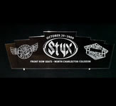 Styx Engraved Acrylic Sign