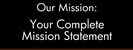 Browse mission statement engraved plastic sign templates