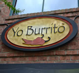 Yo Burrito HDU Sign