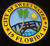 City of Sweetwater HDU Sign