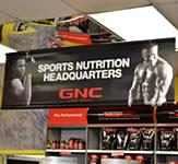 GNC Indoor Banner