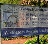 Church Mesh Banner