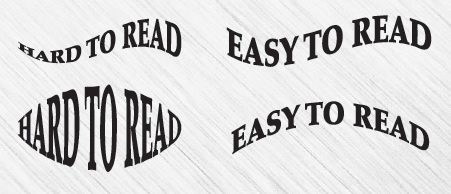Unreadable Text Effects