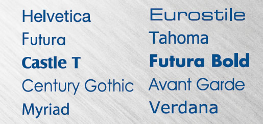 San Serif Fonts
