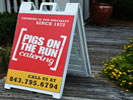 Browse outdoor sidewalk signs