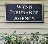 Wynn Insurance Agency Outdoor Wall Sign