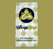 Custom poster example for a yoga studio