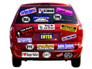 Browse bumper sticker custom promotional product templates