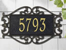 Browse decorative residential plaques