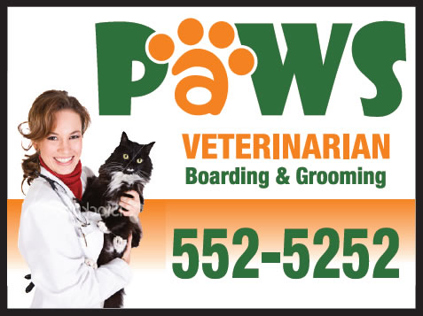 Paws final sign design
