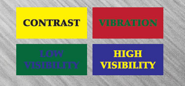 Sign Color Combination Effects