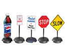 Browse tilt n roll pole signs