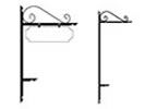 Browse decorative L stakes
