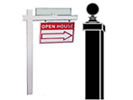 Browse hanging sign posts