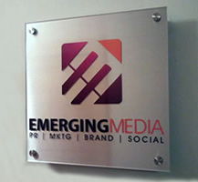 Example of A Custom Acrylic Business Sign