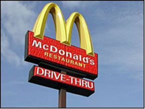 Fast Food Custom Lighted Signs