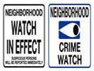 Browse neighborhood watch street sign templates