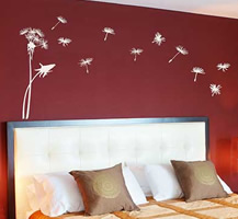 Nature Wall Lettering and Graphics