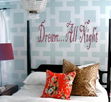 Dream... All Night Lettering and Graphics