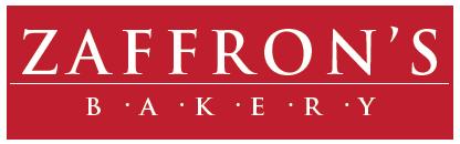 Zaffron Bakery Sign Design