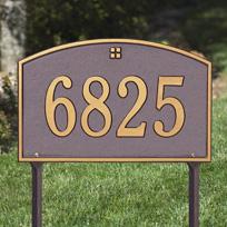 Cape Cod Cast Metal Lawn  Plaque (Standard - 1 line)