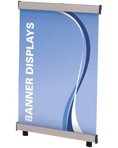 "Deluxe Table Top Pro Banner Stand 11.8"" x 15.75"""