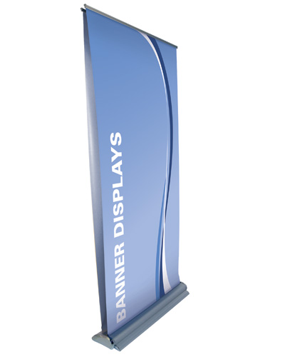 "The Double Sided Roll Up Premium  33.5"" x 80"""