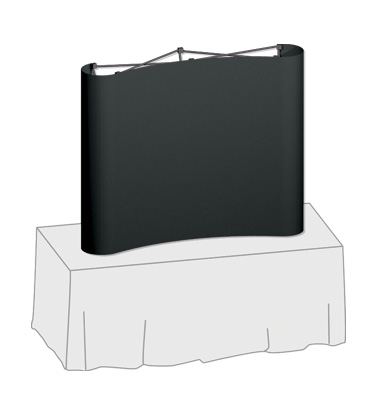 Executive  Table Top Display System 57.75