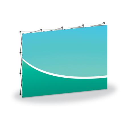 Executive Fabric Backwall Display 118.25
