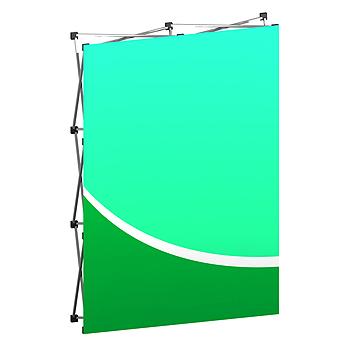 Executive Fabric Backwall Display 60.25