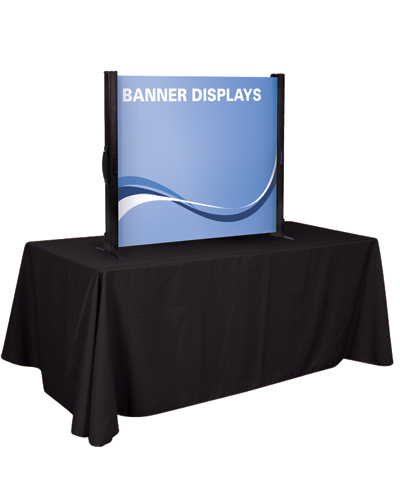 "The Horizontal Standard Retractable Table Display 38"" x 33.5"""