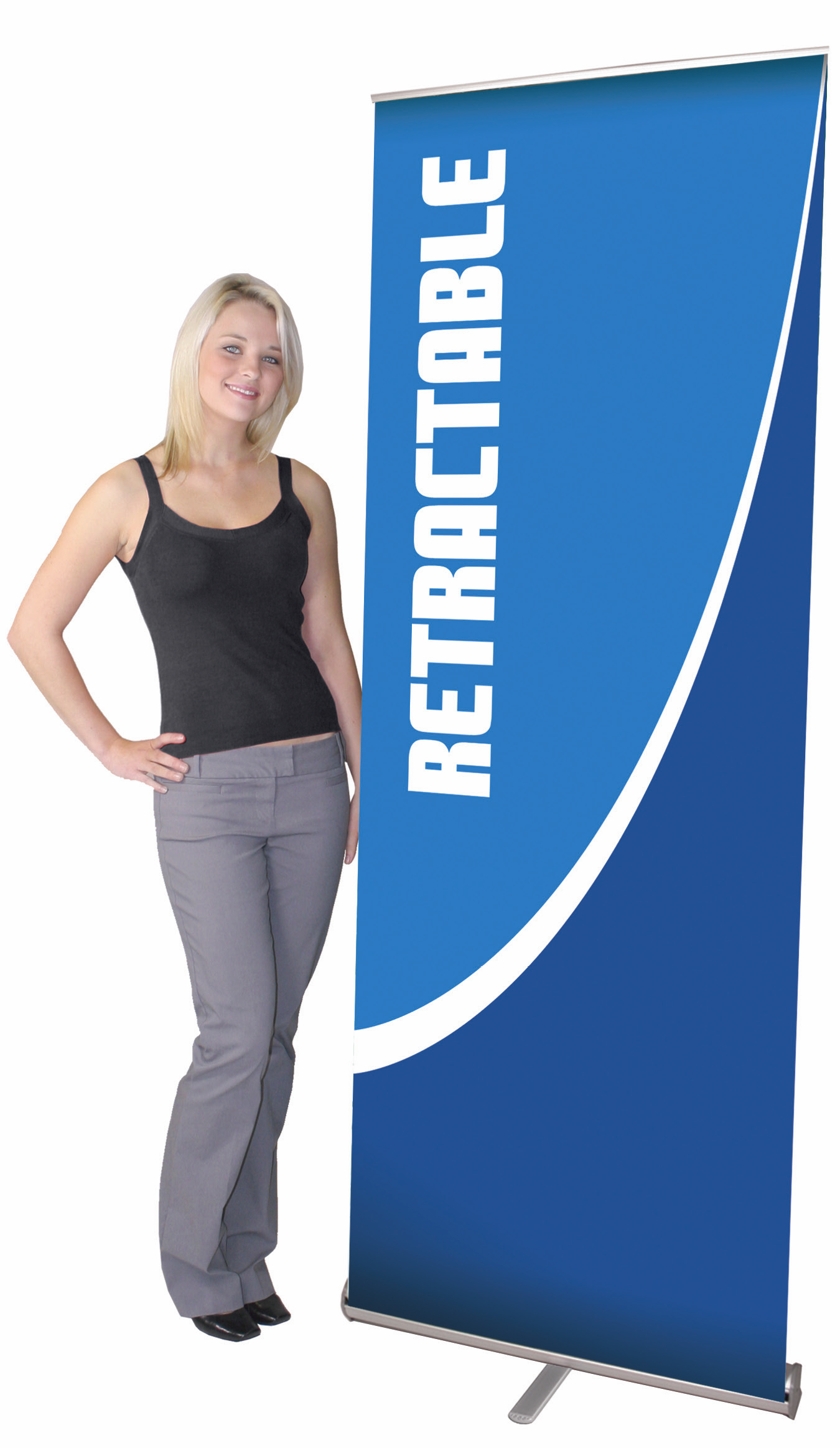 Standard Retractable Banner Stand  35.5