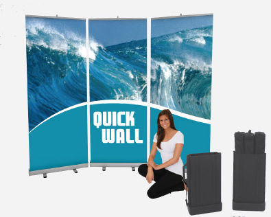 Quickwall Easy Backwall System 10' x 77.5""