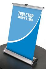 Mini Table Top  Retractable Banner Stand 11