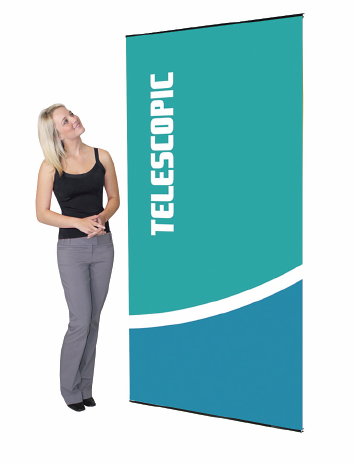"Show Master Banner Stand 36"" x 85.5"""
