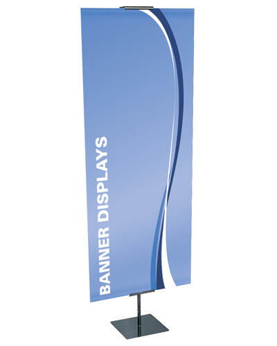 "Showstopper  Adjustable  Banner Stand 24"" x 90"""