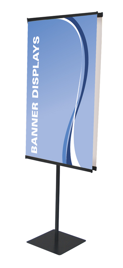 "Showstopper Double Sided Adjustable  Banner Stand 30"" x 90"""