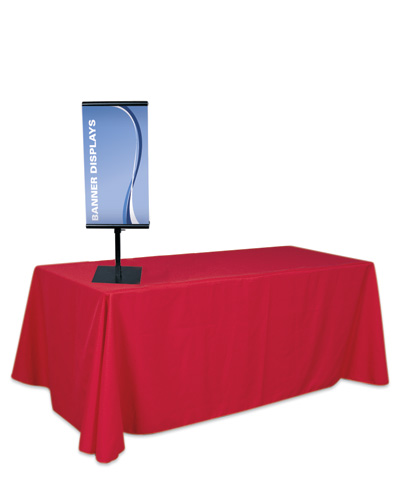 "Showstopper Table Top Adjustable Banner Stand 36"" x 45"""