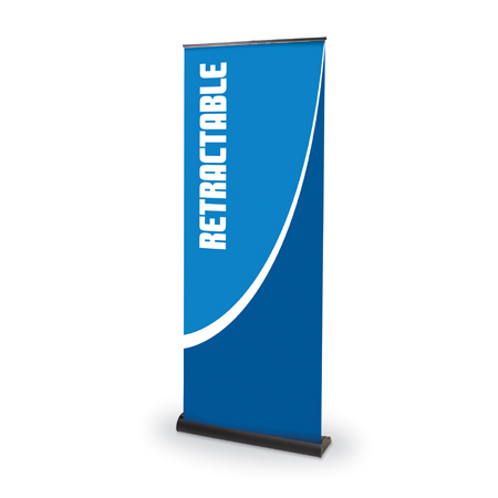 Standard Retractable Banner Stand  39.25
