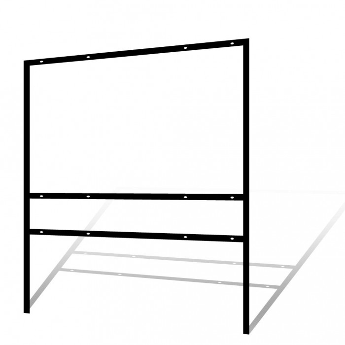 36 Quot X 24 Quot Real Estate Frame Bottom Rider Black
