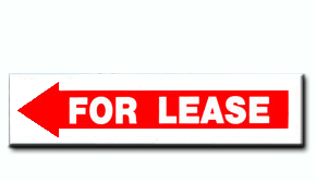 For Lease - Arrow Insert