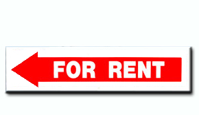 For Rent - Arrow Insert