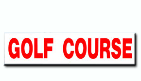 Golf Course Insert