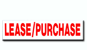 Lease/Purchase Insert