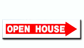 Open House - Arrow Insert